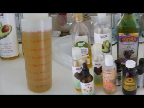 My VERY POTENT Hair Growth Oils