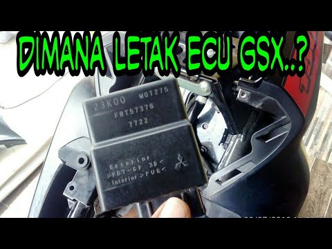 GSX R150 | Cara Melepas ECU GSX | How to Remove ECU Suzuki GSX R