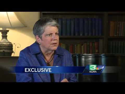 Exclusive interview: Napolitano discusses controversies at UC
