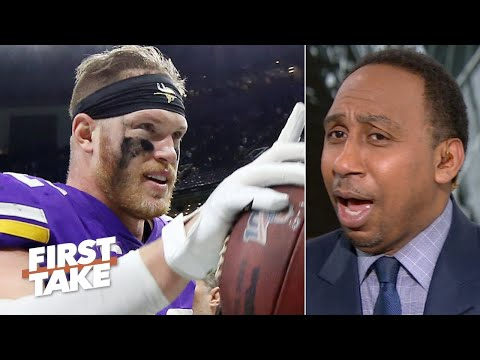 Stephen A. agrees with the pass interference no-call in Saints vs. Vikings | First Take