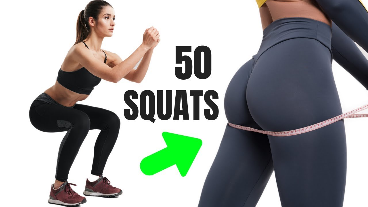 I Did 50 Squats a Day and This is What Happened