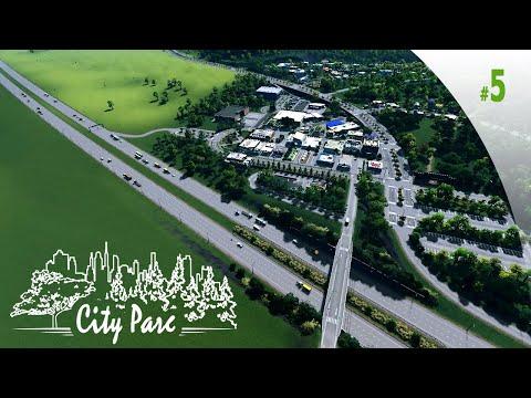 CITIES SKYLINES - Campus : #5 | Un premier quartier commercial et zone d'activité | LET'S PLAY [FR] |