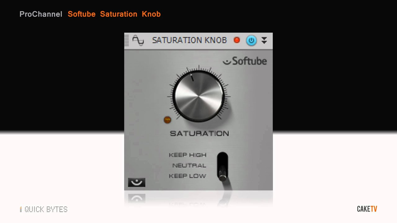 Saturation Knob VST Plugin By Softube! (FREE Download)