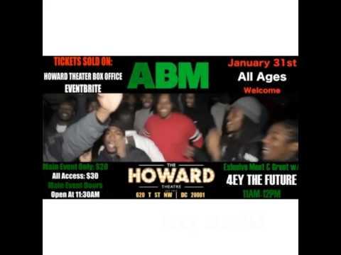 AJA, ABM, & TCB @Howard Theatre Sunday January 31st!
