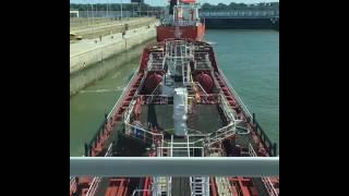 M/T Kerem Ka Antwerp kanal seyir'i