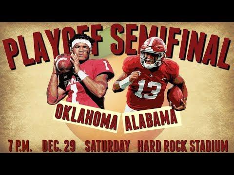 PREVIEW: No. 1 Alabama vs. No. 4 Oklahoma | Orange Bowl College Football Playoff Predictions