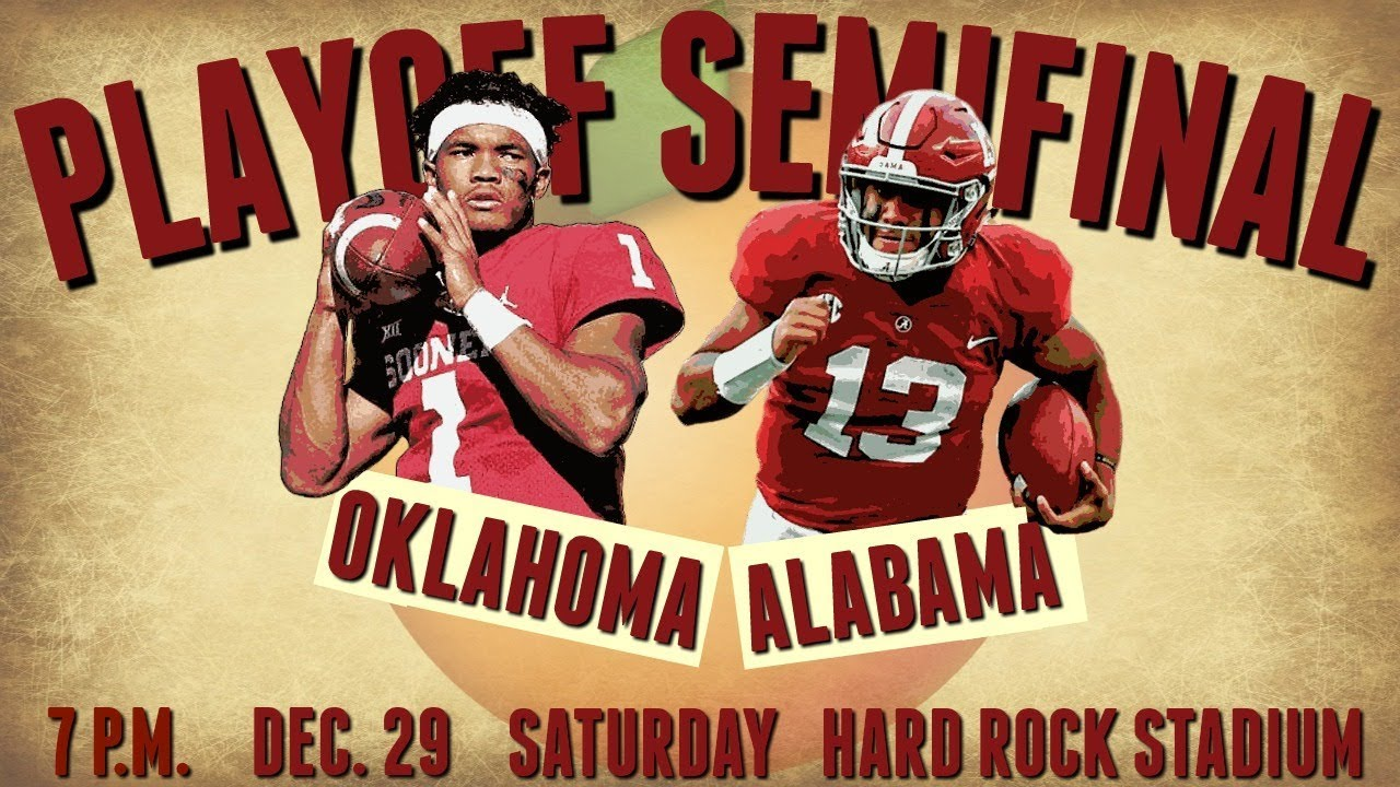 PREVIEW: No. 1 Alabama vs. No. 4 Oklahoma | Orange Bowl ...