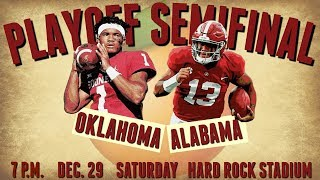 PREVIEW: No. 1 Alabama vs. No. 4 Oklahoma | Orange Bowl College Football Playoff Predictions