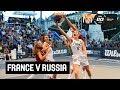 France v Russia - Semi Final - Women's Full Game - FIBA 3x3 U18 Europe Cup 2018