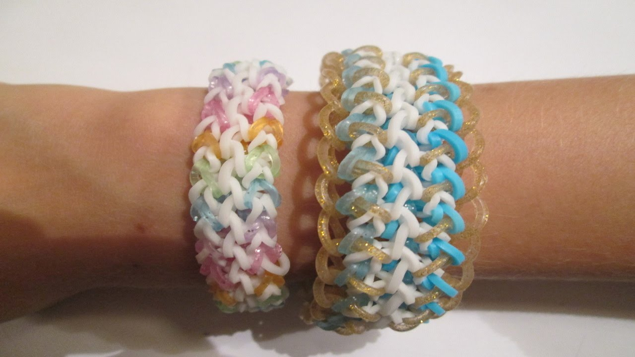 Rainbow Loom How To Make A Renee Or Claire Bracelet