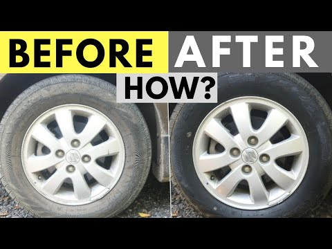HOW TO CLEAN & MAINTAIN TYRES BLACK | 3M TYRE DRESSER REVIEW