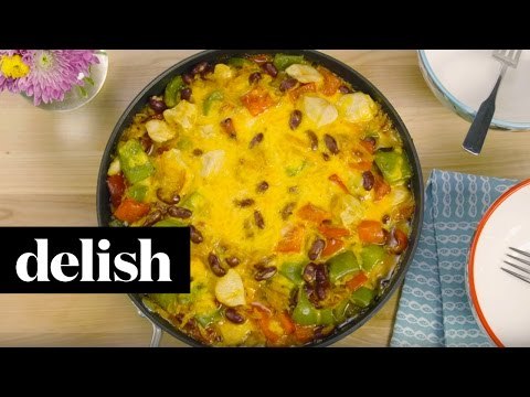 Baked Hearty Chili Chicken and Rice | Delish + Knorr®