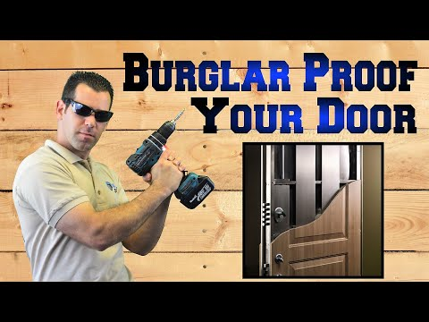 Strike Plate - Burglar proofing Your Home With The Ultimate