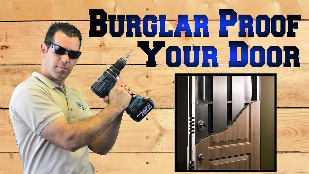 Strike Plate Burglar Proofing Your Home With The