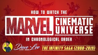 How To Watch MARVEL CINEMATIC UNIVERSE In Chronological Order Explained (Infinity Recap 2008-2019)