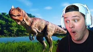 BRO WE JUST FREAKING CREATED A DINOSAUR! | Jurassic World Evolution