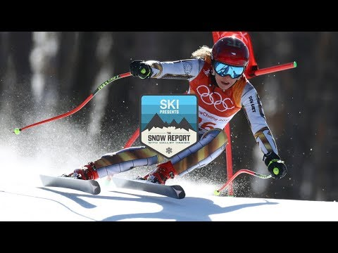 Snowboarder Wins Ski Race Gold // The Snow Report Olympics (Feb 19)