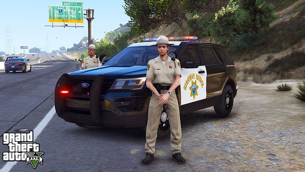 CHP Highway Patrol! (GTA 5 LSPDFR Mod #291)