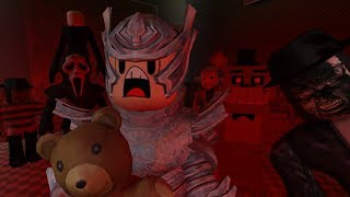 The Scary Elevator | HEROBRINE IN ROBLOX! | Roblox