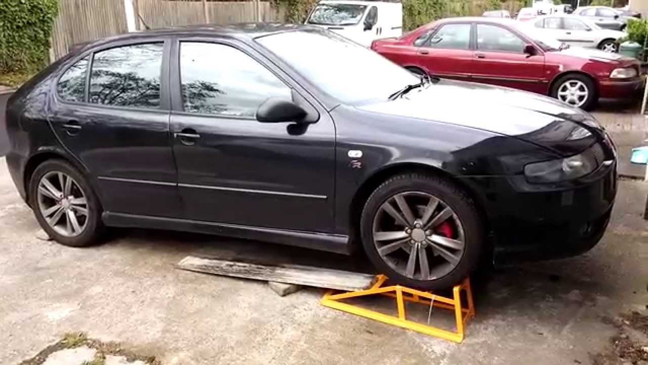 Low Car Ramps >> How To Get Car On Ramps When Front End Is Too Low Youtube