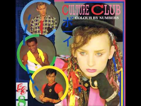 Culture Club - Miss Me Blind (Colour By Numbers) 1983.