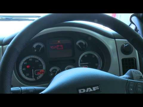 DAF XF105 Interior Euro5 tour