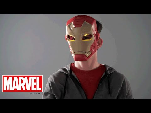 Marvel Captain America: Civil War U.K. - 'Tech FX Mask' Demo