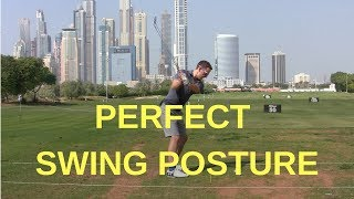 GOLF TIPS FOR PERFECT GOLF SWING SETUP AND POSTURE