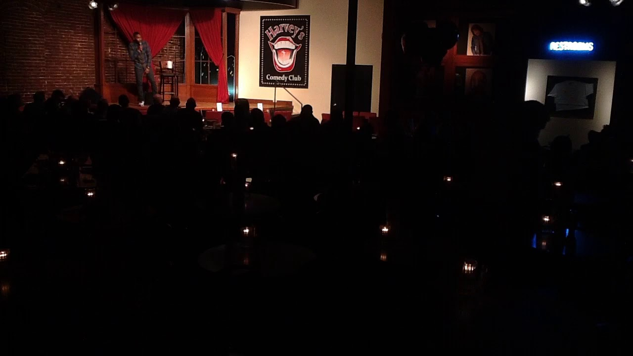 Harvey's Comedy Club in Portland 2-18-2018