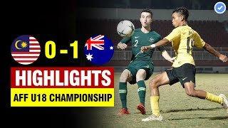 Malaysia 0-1 Australia   AFF U18 Championship 2019 Final   All Goals & Highlights 19/8/2019 Full HD