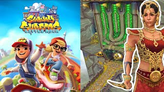 Temple Run 2 Sky Summit vs Subway Surfers Little Rock | Android/ios Gameplay