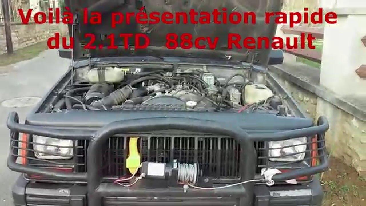 pr u00e9sentation du moteur j8s renault 88cv