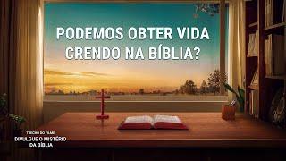 """Filme evangélico """"Divulgue o mistério da bíblia"""" Clipe 6 – Podemos obter vida crendo na Bíblia?"""
