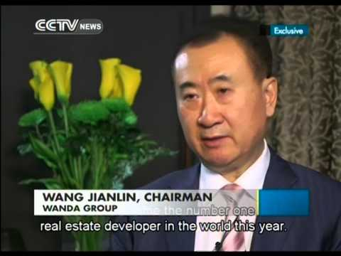 Exclusive interview Wang Jianlin, Chairman of Dalian Wanda Group ...