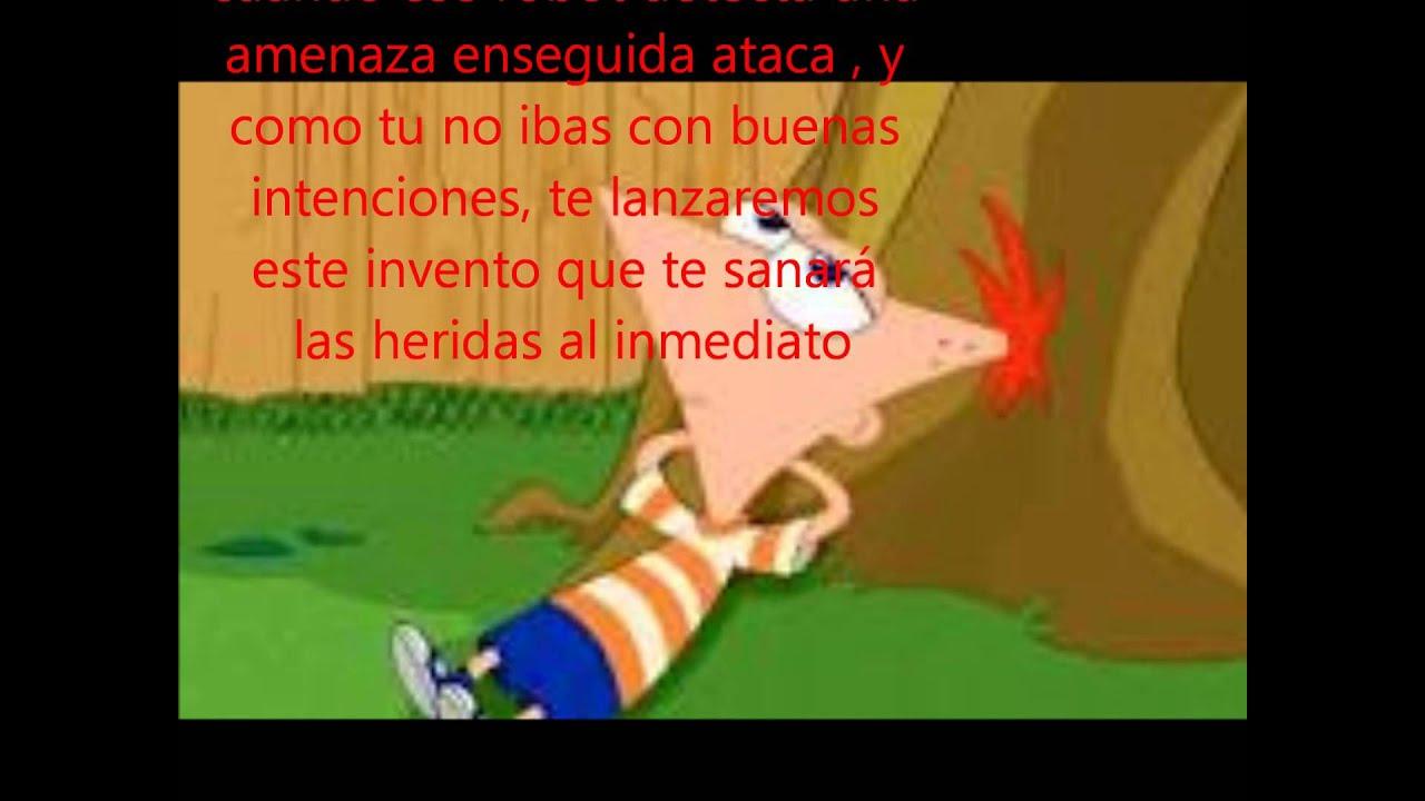 Phineas y Ferb Capitulo 1 Cambio de papeles wmv YouTube