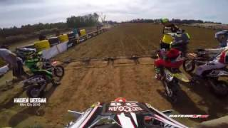 Haiden Deegan (Danger Boy) on rails  Gopro Hero 5 EPIC LAST LAP PASS for Win!!!! MiniO's 2016