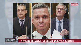 Tour d'horizon de l'actualité du Sénat et de l'actualité du jour. - Territoire Sénat (22/03/2019