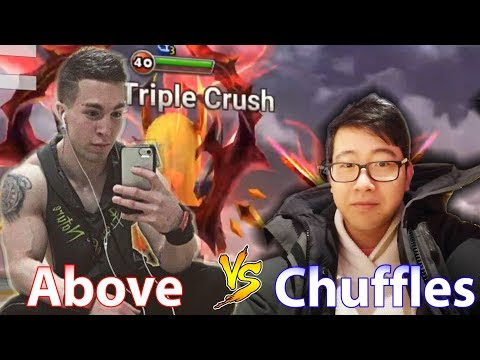 Summoners War - Above vs Chuffles (King of the Hill Week 5) CLOSE BATTLE!