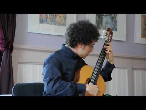 J. S. Bach: Preludio-Presto BWV 996 - Andrea De Vitis
