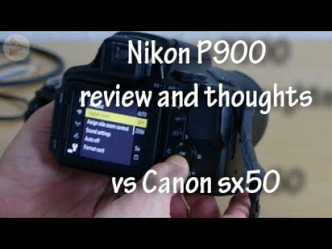 Nikon p900 impressions vs canon sx50hs