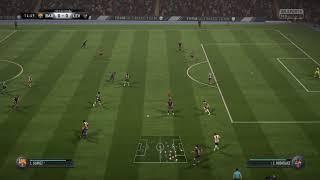 FIFA 18 FC Barcelona vs Levante