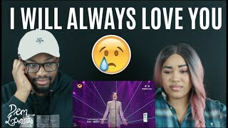 Video Jessie J - I Will Always Love You| Singer 2018 Episode 13| REACTION download MP3, 3GP, MP4, WEBM, AVI, FLV April 2018