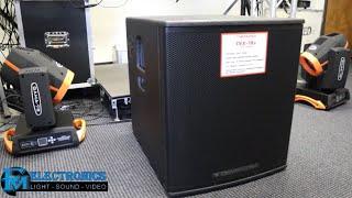 Review de Potente bajo Cerwin Vega CVX18S | 2000 watts
