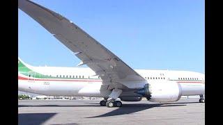 Avión presidencial se va de México