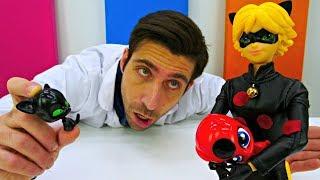 Vidéo avec jouets: Chat noir et Plagg chez le docteur Ouille - № 15 streaming