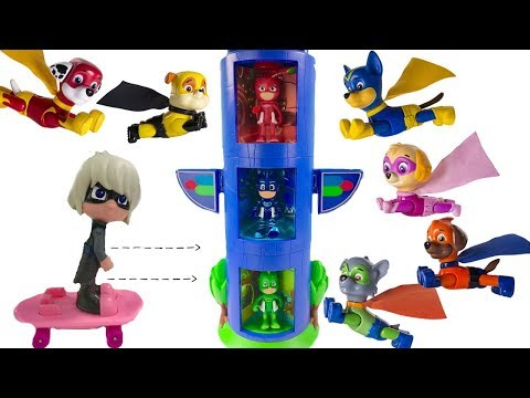 Thumbnail: Learning Colors for Children with Transforming PJ Masks & Paw Patrol Super Pups | Fizzy Fun Toys