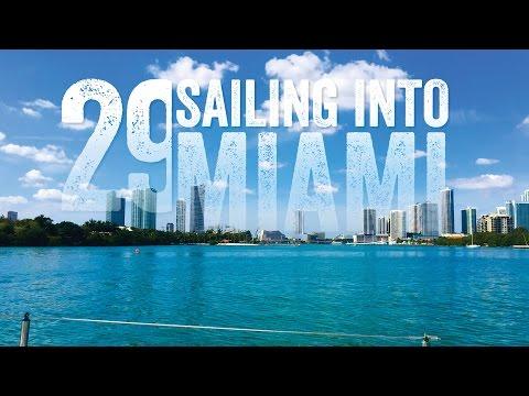 Sailing into Miami Single-handed Escape 29