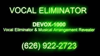 Turn Your Foreign Music CDs Into Karaoke Music, DEVOX 1000, Vocal Eliminator, , Buy Karaoke Music