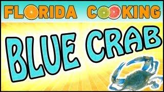 Blue Crab Cake In Portobello Mushroom Caps