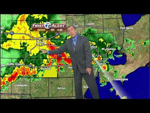 Forecast: Storms roll through metro Detroit